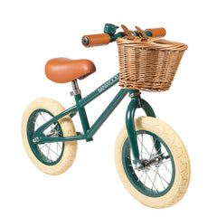 banwood balance bike dark green