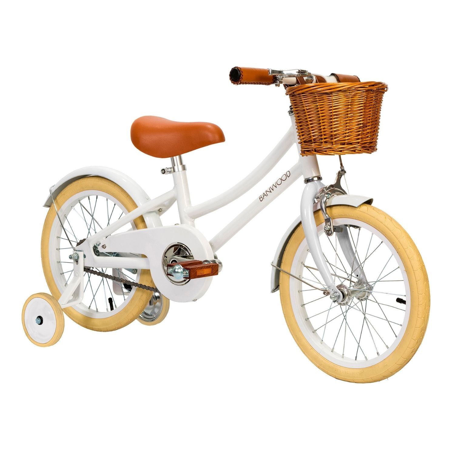 banwood pedal bike white