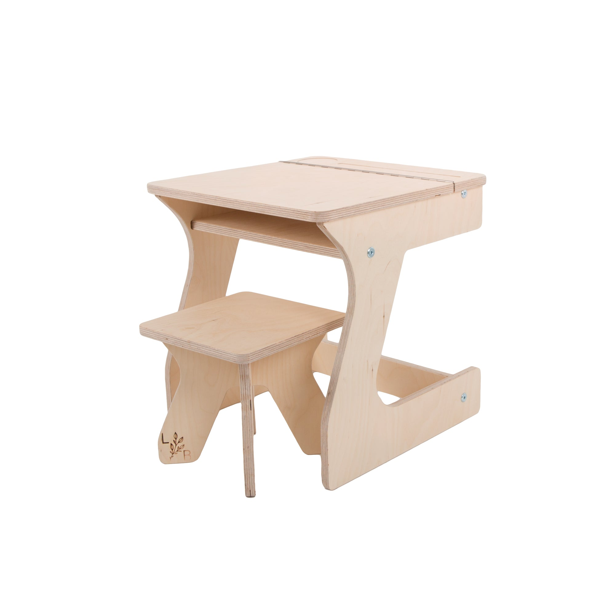 weaning table and kids stool