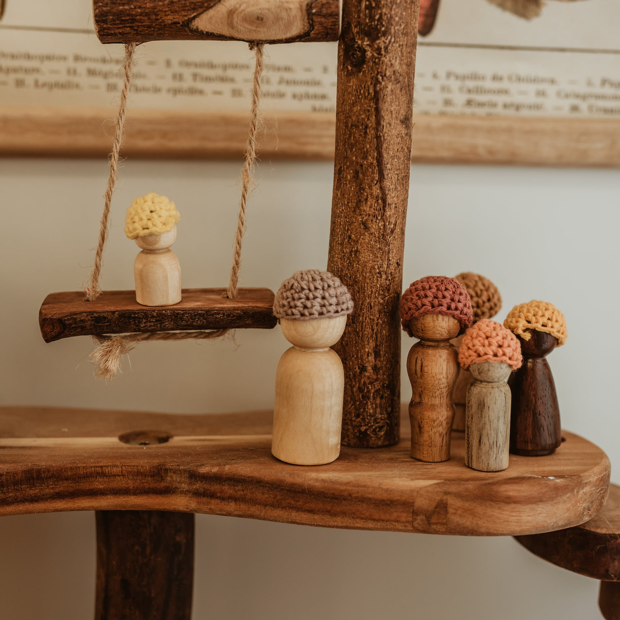 Kinsfolk | Wooden Peg Dolls