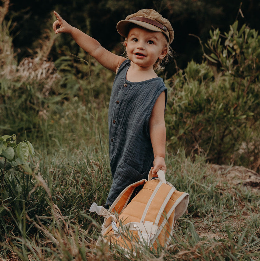 Organic Cotton Toddler Backpack
