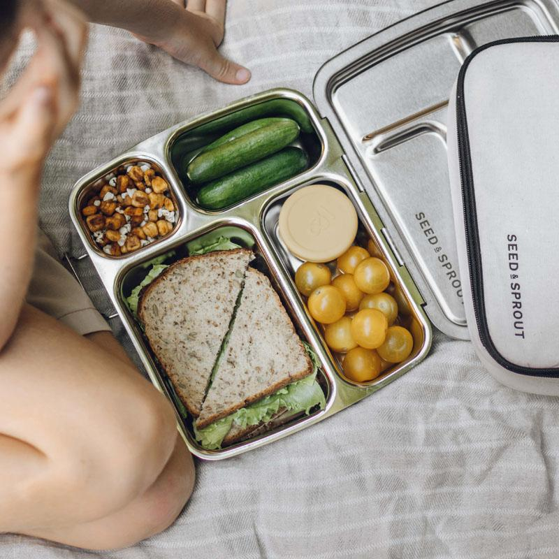 crunchbox stainless steel bento