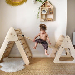 Pikler Triangle Climbing Frame Package