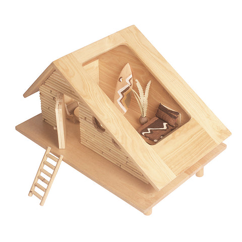Surf Shack Dollhouse Furniture Kit