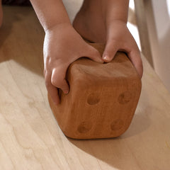 Giant Wooden Dice