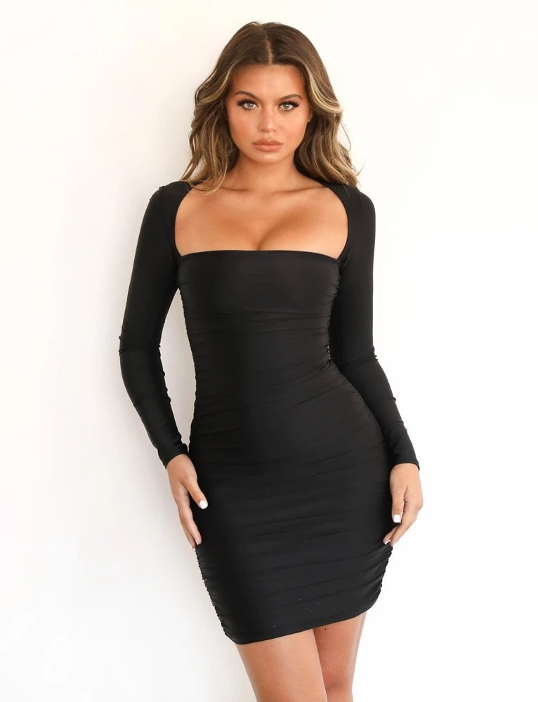 Black Bring It Dress