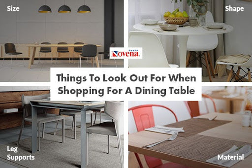 Things To Look Out For When Shopping For A Dining Table