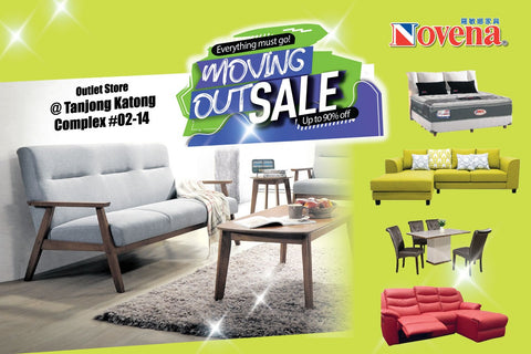 Furniture moving out sale