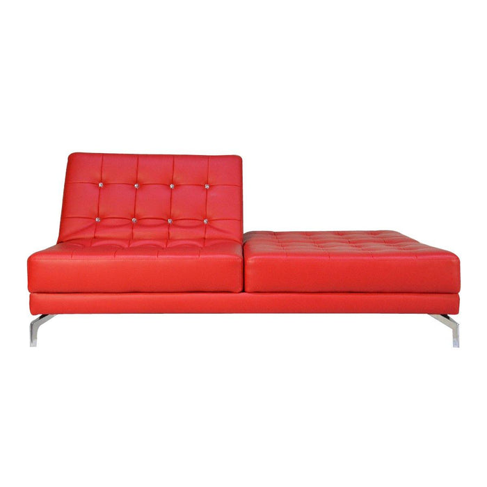Gigi 3 Seater Sofabed, Simulated Leather