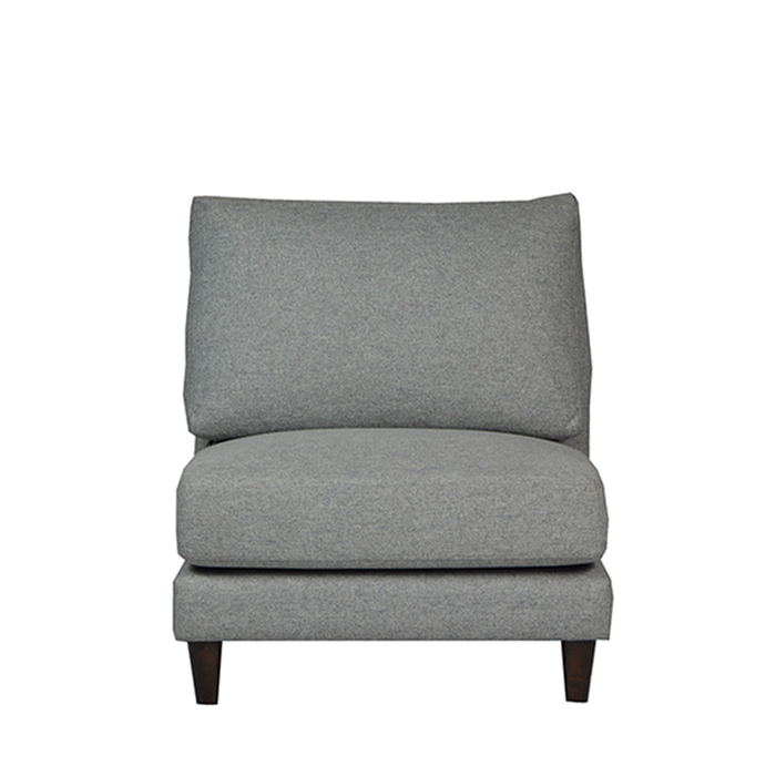 Gulf 1 Seater Sofa, Fabric - Novena Furniture Singapore