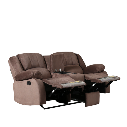 Rhea 2 Seater Recliner Sofa, Fabric - Novena Furniture Singapore