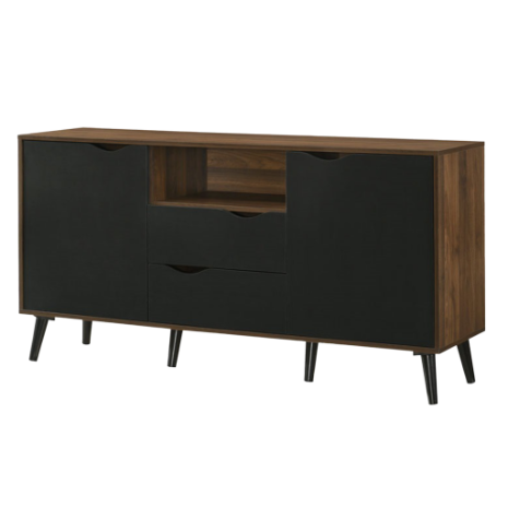 Ace 5FT Sideboard, MDF with Solid Wood Legs - Novena Furniture Singapore