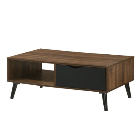 Ace Coffee Table, MDF with Solid Wood Legs - Novena Furniture Singapore