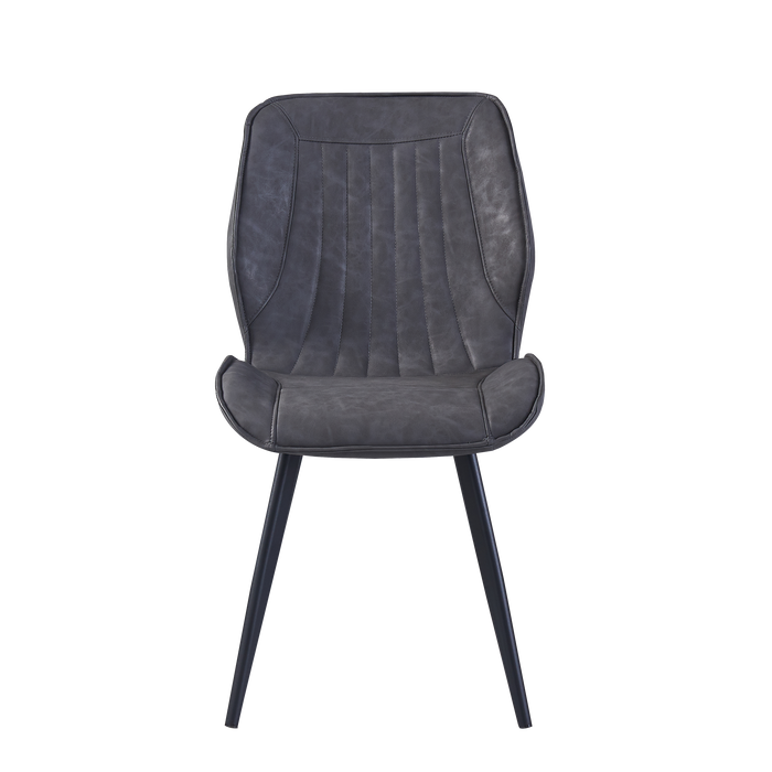 Allan Dining Chair, Fabric - Novena Furniture Singapore