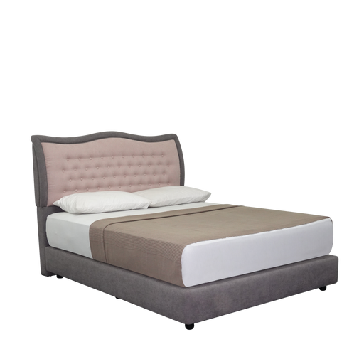 Antoinette Upholstered Bed - Novena Furniture Singapore