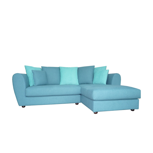 Arco L-Shaped Sofa, Fabric - Novena Furniture Singapore - Sofas