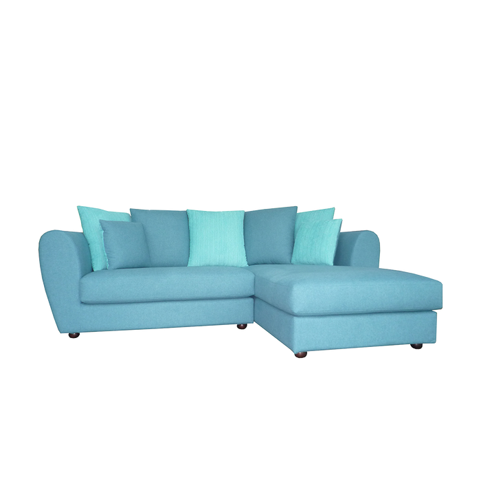 Arco L-Shaped Sofa, Fabric - Novena Furniture Singapore