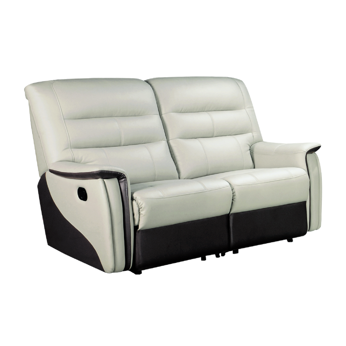 Avim 2 Seater Recliner Sofa, Half Leather - Novena Furniture Singapore