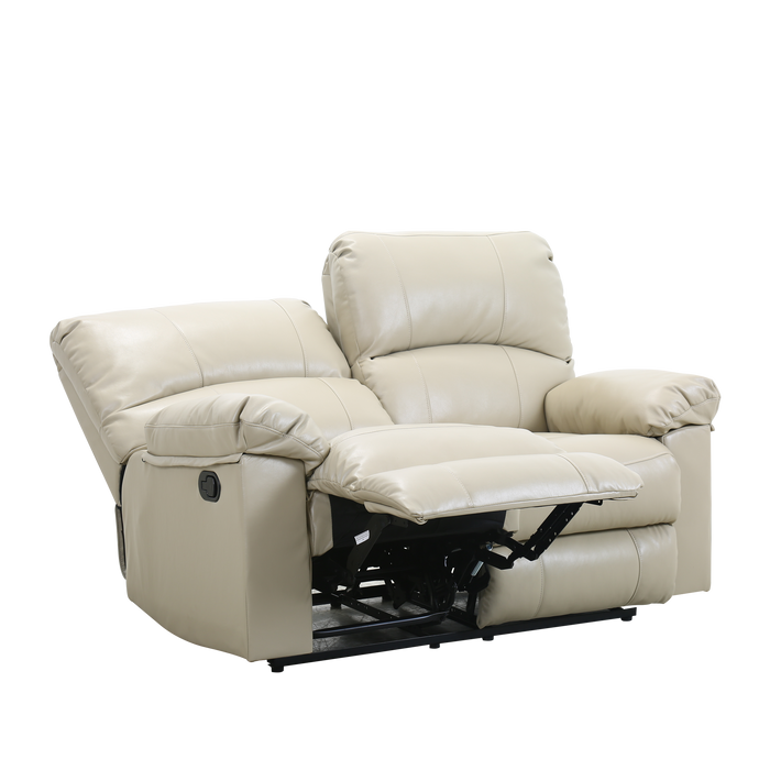 Cass 2 Seater Recliner Sofa, Simulated Leather - Novena Furniture Singapore