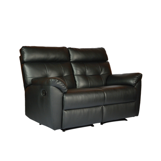 Emma 2 Seater Recliner Sofa, Simulated Leather - Novena Furniture Singapore - Recliners