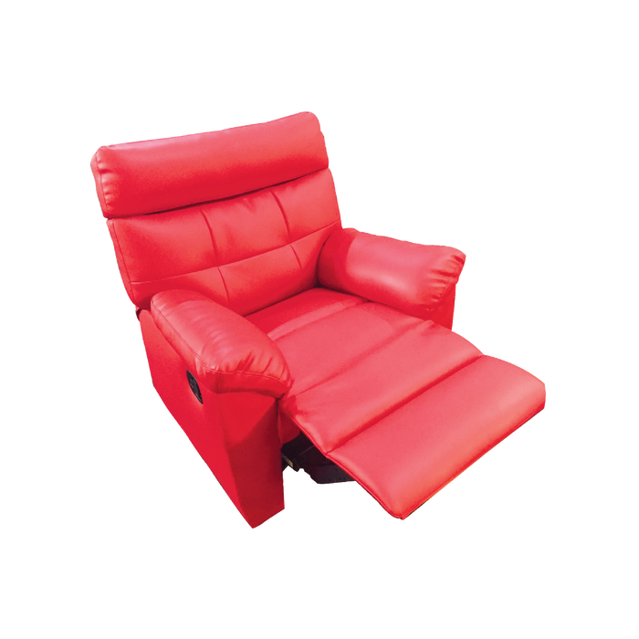 Emma 1 Seater Recliner Armchair, Simulated Leather