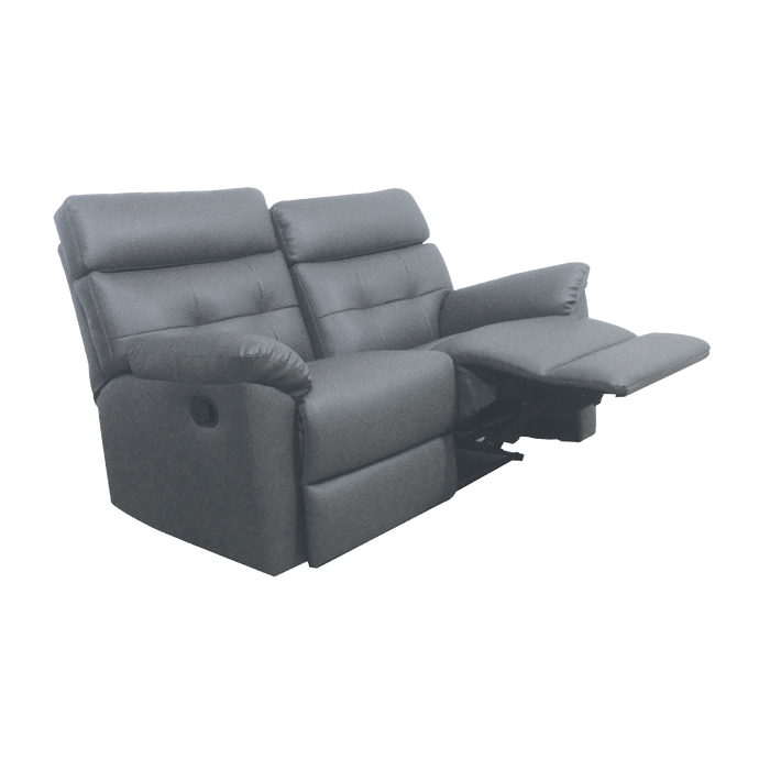 Emma 2 Seater Recliner Sofa, Simulated Leather - Novena Furniture Singapore