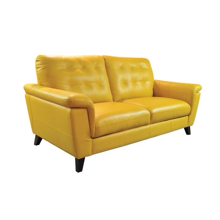 Ferrara 2 Seater Sofa, Full Leather - Novena Furniture Singapore