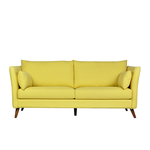 Finny 3 Seater Sofa, Fabric - Novena Furniture Singapore