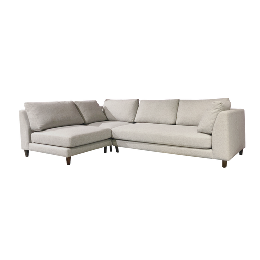 Gulf L-Shaped Sofa, Fabric