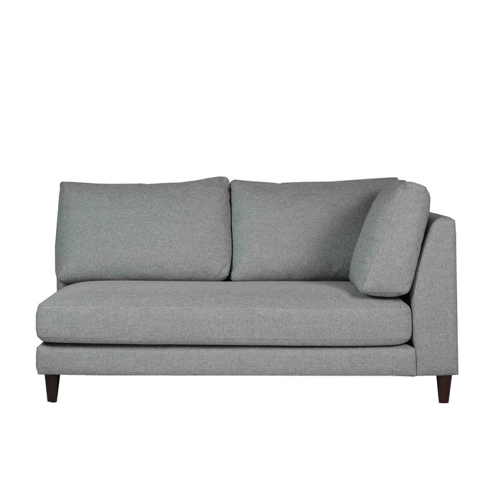 Gulf 2 Seater Sofa with 1-Arm, Fabric - Novena Furniture Singapore -