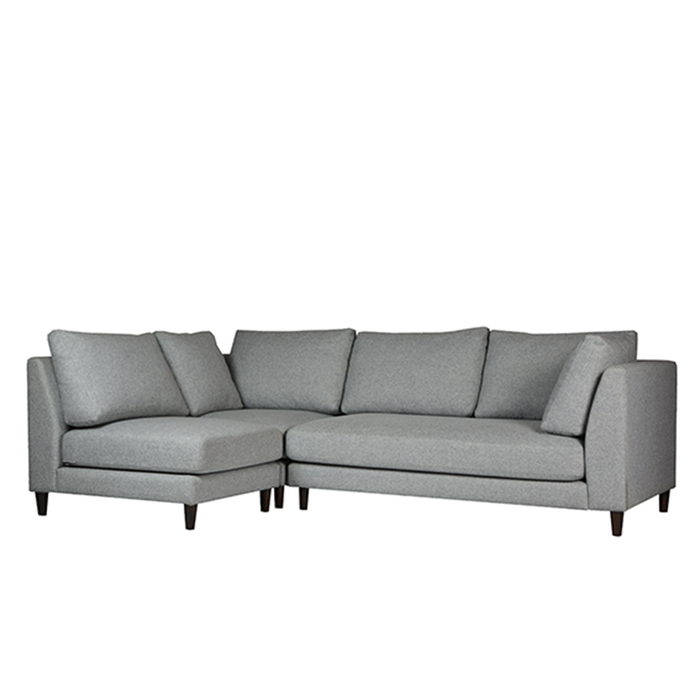 Gulf L-Shaped Sofa, Fabric - Novena Furniture Singapore