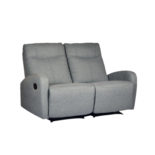 Hampton 2 Seater Recliner, Fabric