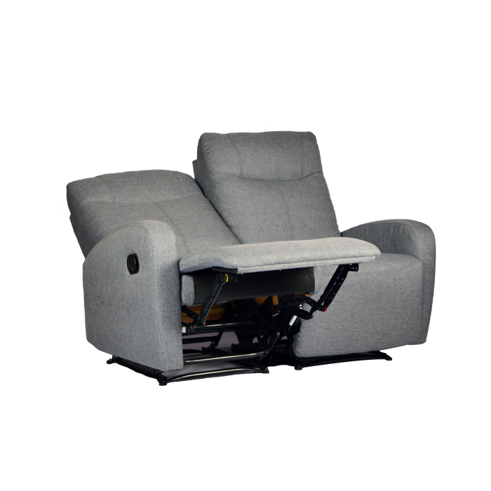 Hampton 2 Seater Recliner, Fabric - Novena Furniture Singapore