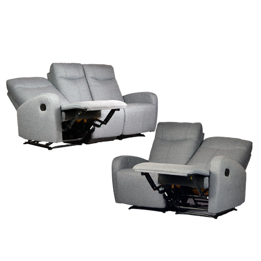 [PROMO] Hampton 3+2 Seater Recliner, Fabric - Novena Furniture Singapore