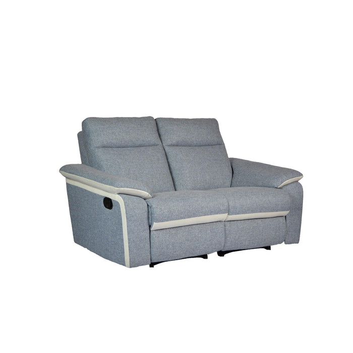 ISSAC 2 Seater Recliner Sofa, Fabric - Novena Furniture Singapore