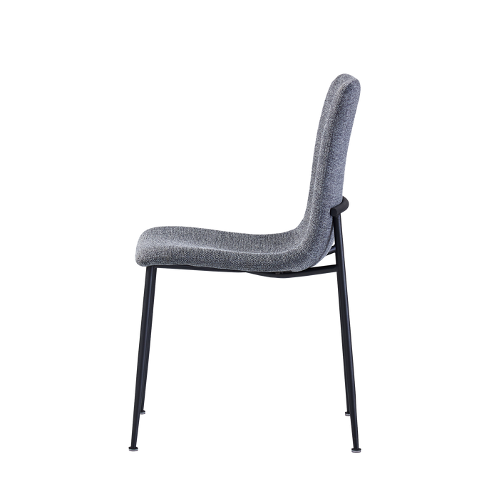 Isabel Dining Chair, Fabric - Novena Furniture Singapore