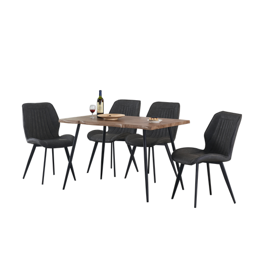 Isabel 1.2m Dining Set (Includes 4 Allan Dining Chairs!) - Novena Furniture Singapore - Dining Tables