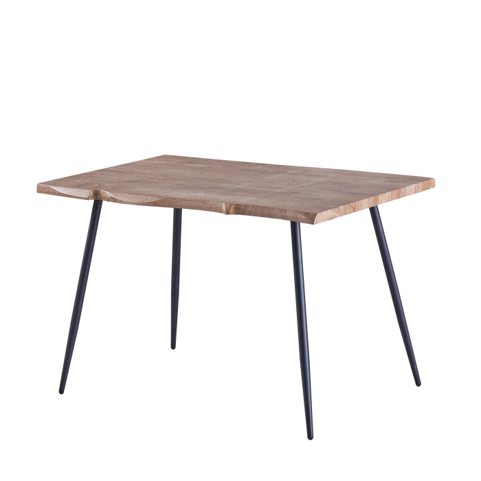 Isabel 1.2m Dining Table, Metal Legs with MDF Top - Novena Furniture Singapore