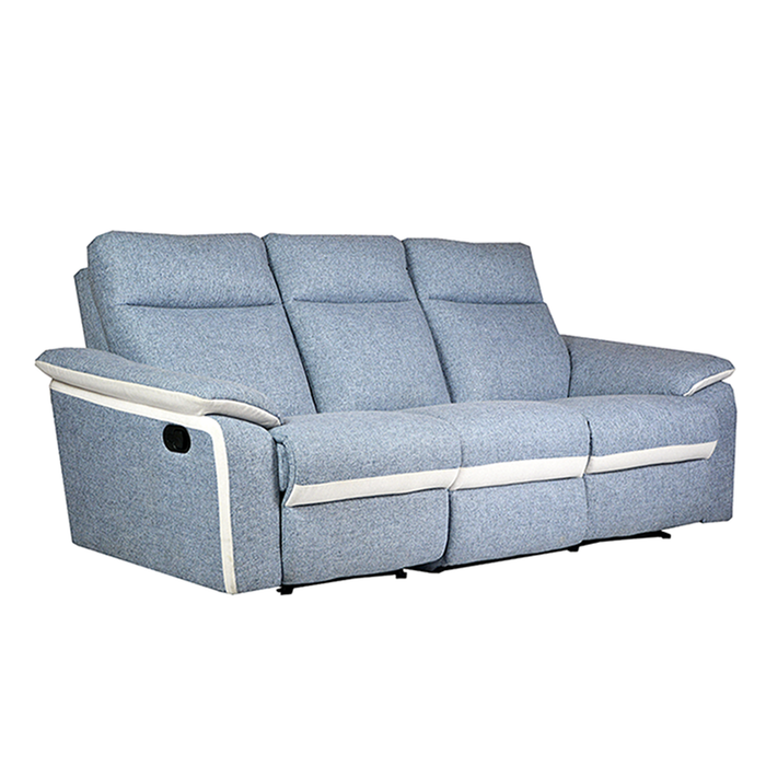 ISSAC 3 Seater Recliner Sofa, Fabric