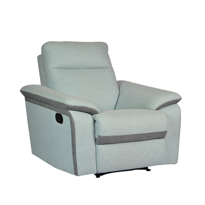 Issac Recliner Armchair, Fabric - Novena Furniture Singapore - Recliners