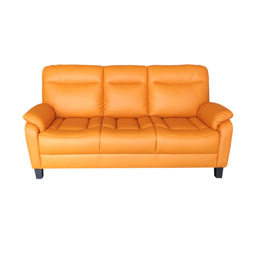 Jaca 3 Seater Sofa, Simulated Leather - Novena Furniture Singapore