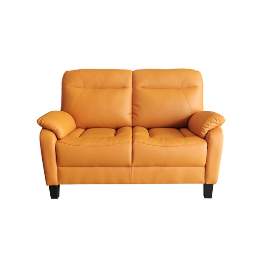 Jaca 2 Seater Sofa, Simulated Leather - Novena Furniture Singapore
