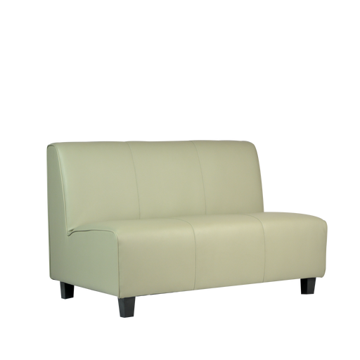 Kuhmo 2 Seater Sofa, Silver - Novena Furniture Singapore