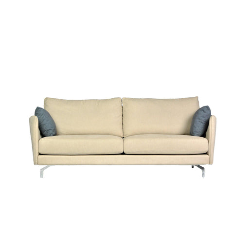Laxus 3 Seater Sofa, Fabric - Novena Furniture Singapore - Sofas