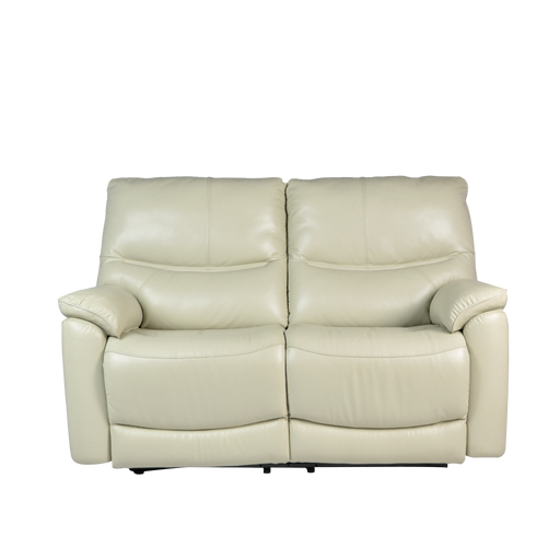 Leica 2 Seater Recliner Sofa, Half Leather - Novena Furniture Singapore