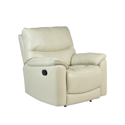 Leica Recliner Armchair, Half Leather - Novena Furniture Singapore - Recliners