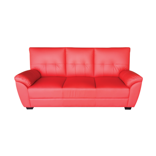 Leon 3 Seater Sofa, Synthetic Leather - Novena Furniture Singapore