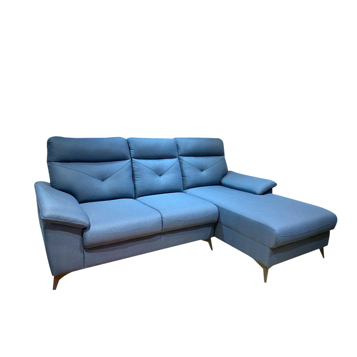 Mara L-Shaped Sofa, Fabric - Novena Furniture Singapore