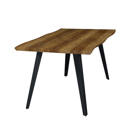 Mason 1.6M Dining Table, Rubber Wood - Novena Furniture Singapore