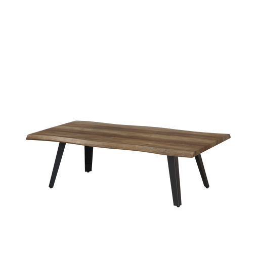 Mason 1.2m Coffee Table, MDF Top with Metal Legs - Novena Furniture Singapore